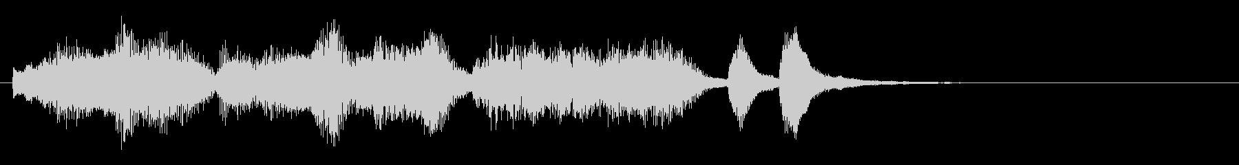 のほほんジングル021_優しい-3の未再生の波形