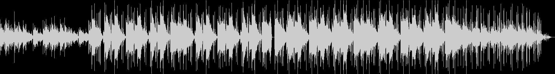 チルアウト R&B ローファイビートの未再生の波形