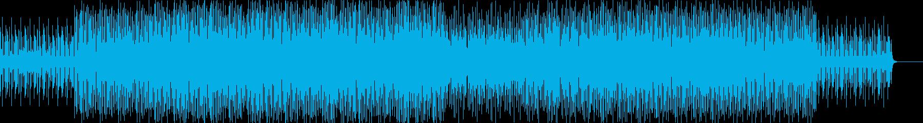 静かでリラックスしたエレクトロジャ...の再生済みの波形