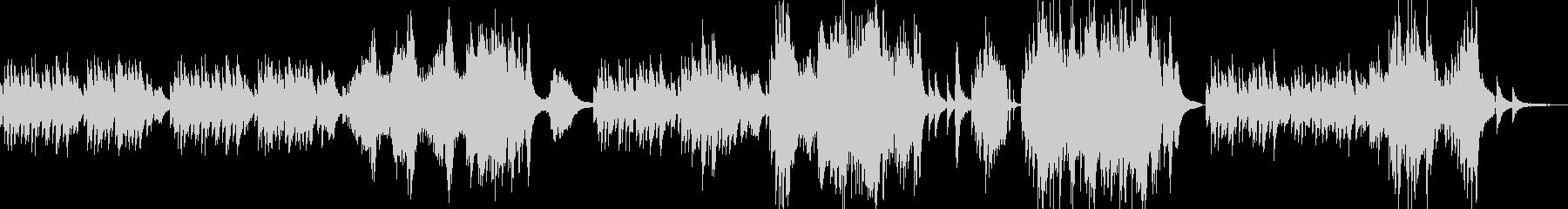ランゲの人気曲、Blumenliedですの未再生の波形