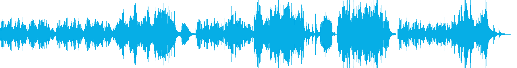 ランゲの人気曲、Blumenliedですの再生済みの波形