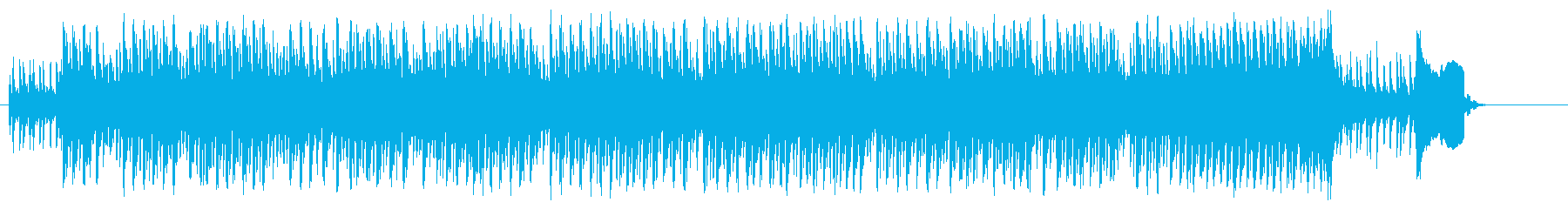 サスペンス風ドラマ/ドキュメントの再生済みの波形
