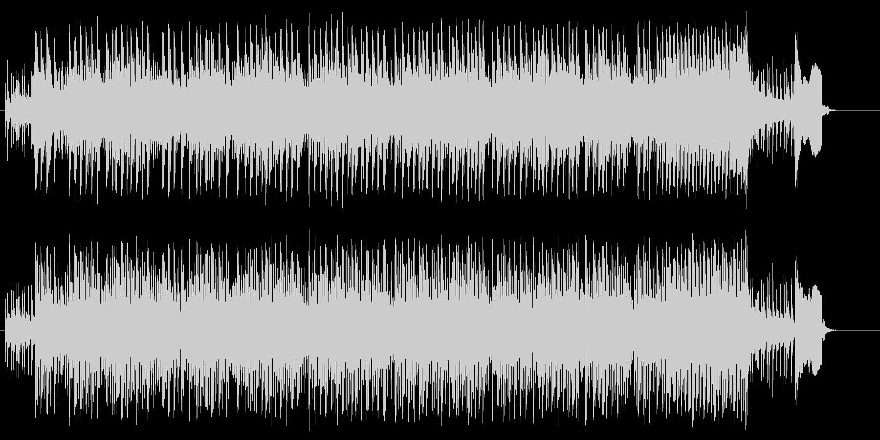 サスペンス風ドラマ/ドキュメントの未再生の波形