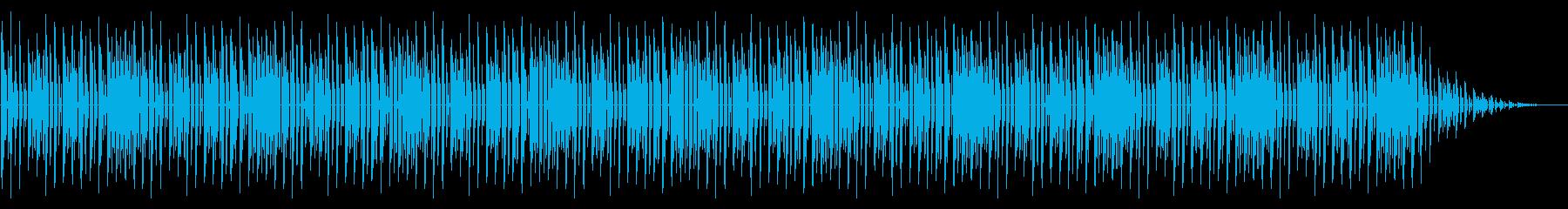 GB風パズル・カードゲームのステージ曲の再生済みの波形