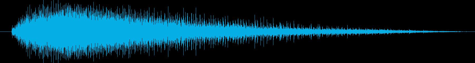 機械 ジグソーエンジン高速中長01の再生済みの波形