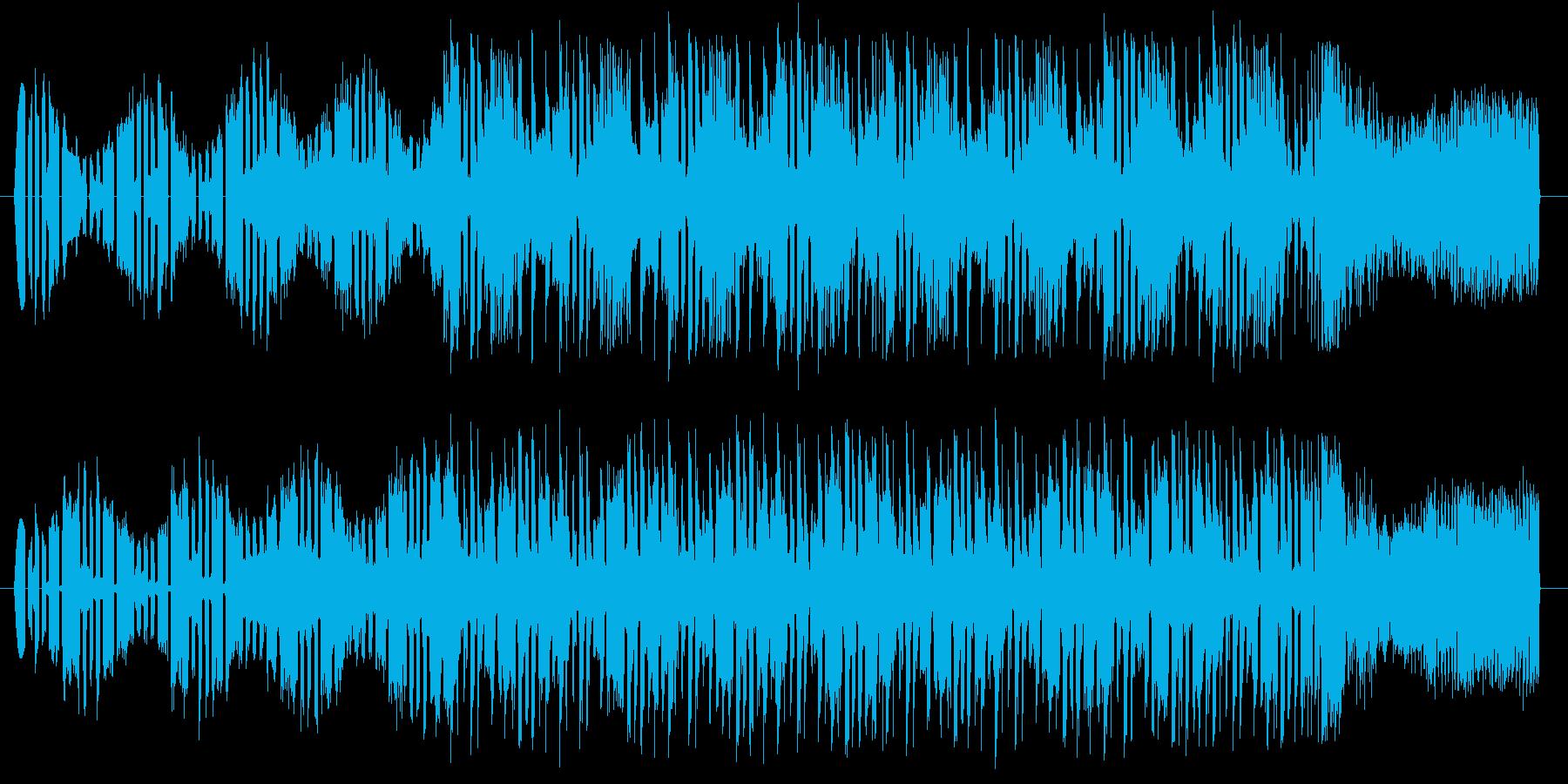 オリエンタル テクノ 和風 オープニングの再生済みの波形