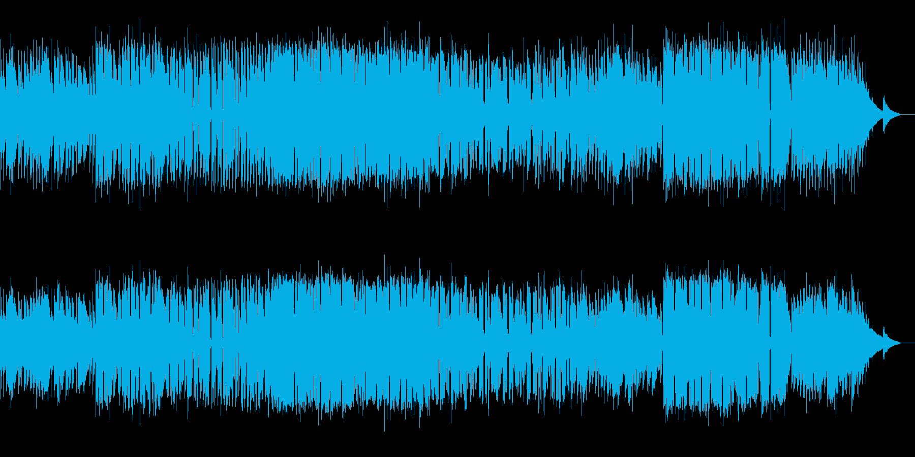 アコギが美しいバラードの再生済みの波形