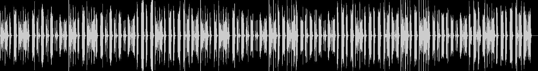 脱力&まぬけな日常会話1/ドラム抜きの未再生の波形