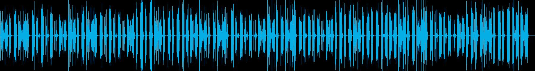 脱力&まぬけな日常会話1/ドラム抜きの再生済みの波形