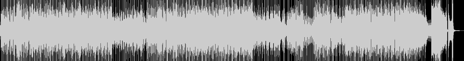 軽快・喜劇的なカントリーポップ 長尺の未再生の波形