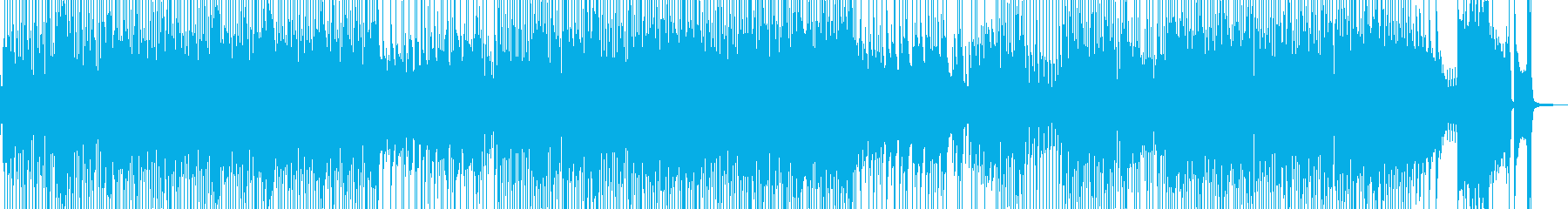 軽快・喜劇的なカントリーポップ 長尺の再生済みの波形