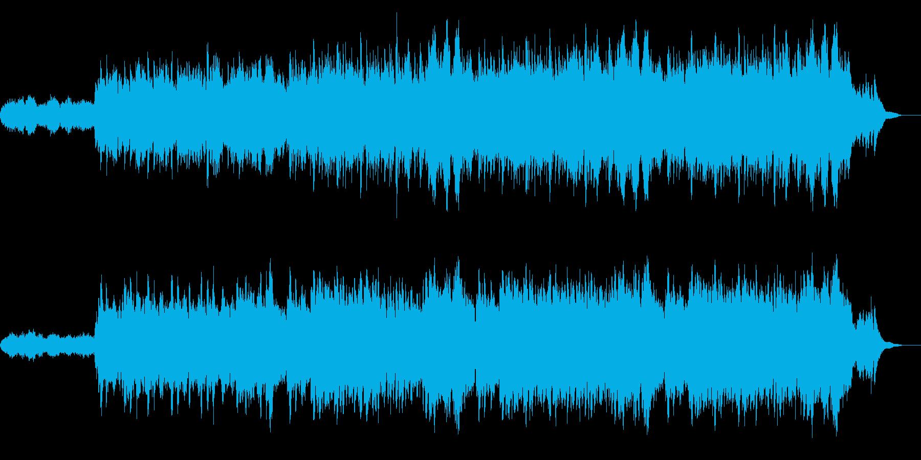 落ち着いたバラード アンビエントの再生済みの波形