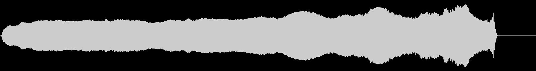 スライドホイッスル 上昇 長いの未再生の波形