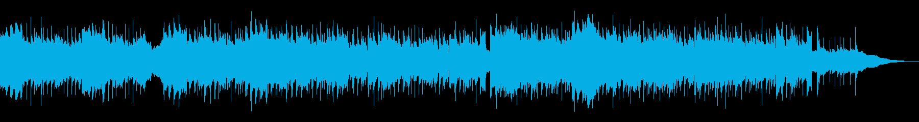 オープニング・応援・4つ打ち・青空の再生済みの波形