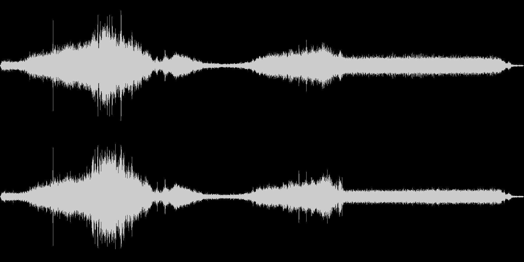 WW2ハーフトラック:スローパス、...の未再生の波形