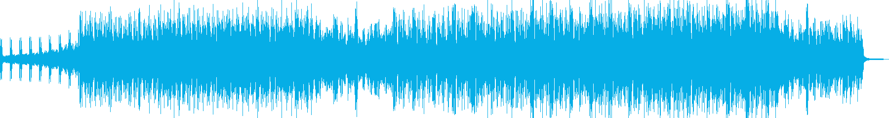 浮遊感漂うミステリアスなエレクトロの再生済みの波形
