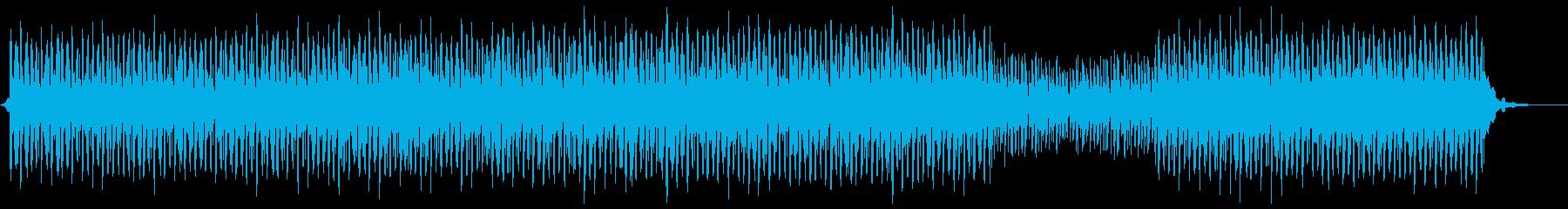 クールでアーバンな雰囲気のBGMの再生済みの波形