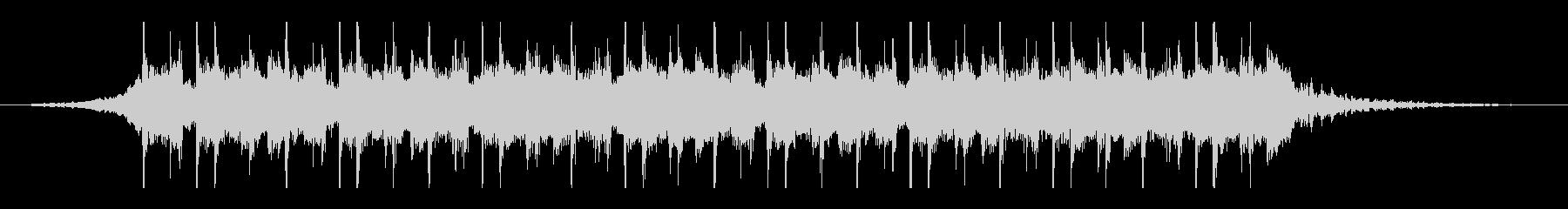 ラマダン(26秒)の未再生の波形