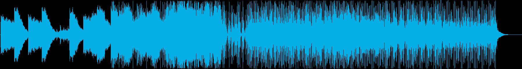 映画・ゲーム(近未来設定)のオープニングの再生済みの波形