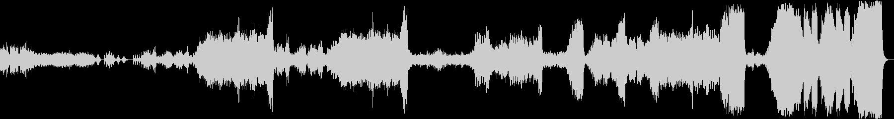 花のワルツ - チャイコフスキーの未再生の波形