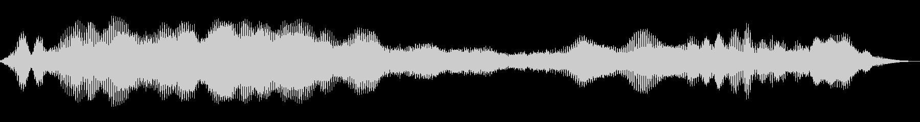 スペースフェリー3の未再生の波形