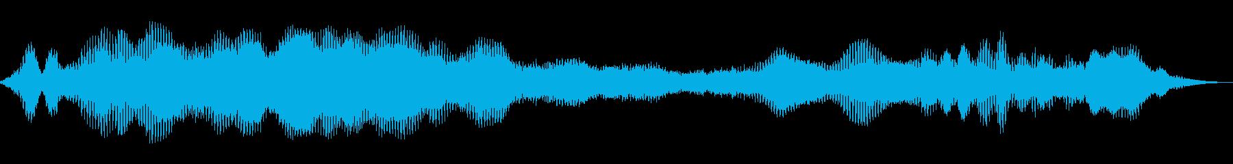 スペースフェリー3の再生済みの波形