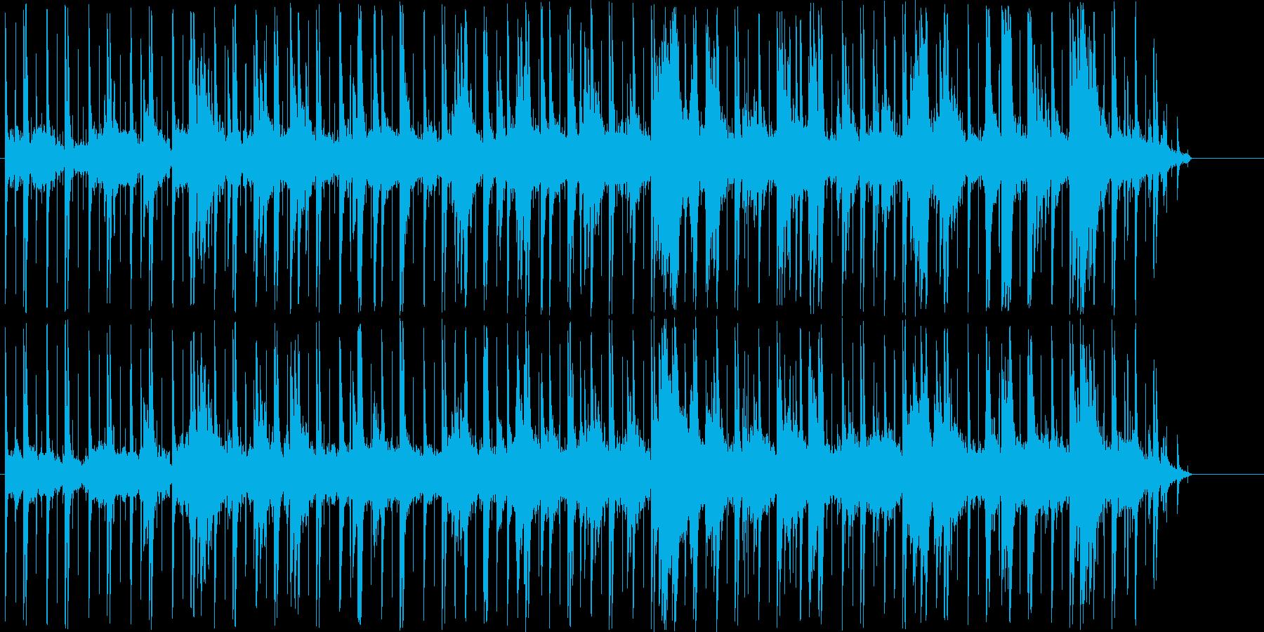 ピアノの音が静かに踊リます♪ヒーリング系の再生済みの波形