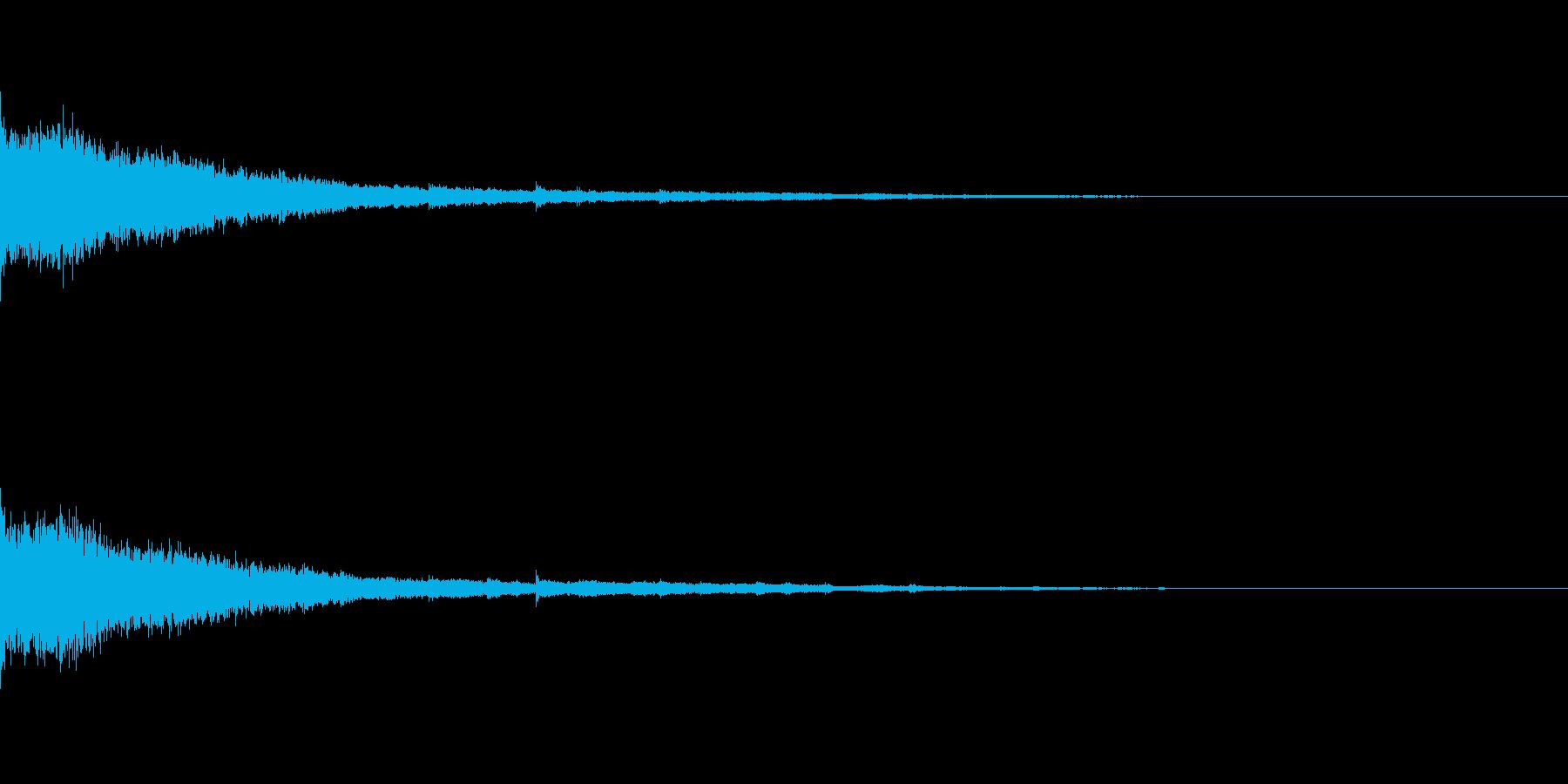 かわいい系 キラキラ系 光る音18の再生済みの波形