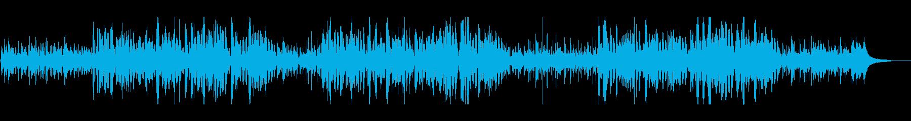 ボサノバジャズのおしゃれクリスマス曲の再生済みの波形