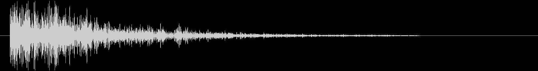 ゴーン ホラー系 1(効果音)の未再生の波形