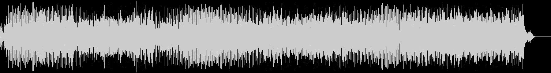 生き生きとしたポップ/フュージョン/BGの未再生の波形
