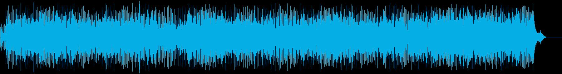 生き生きとしたポップ/フュージョン/BGの再生済みの波形