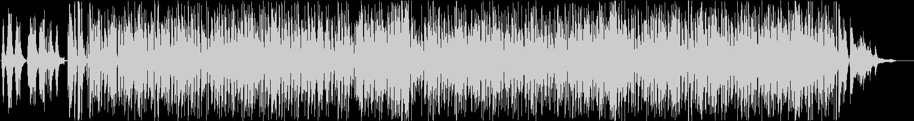 フランス・アコーディオンのスウィングの未再生の波形