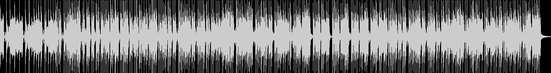 ベースとドラムのみのシンプルなロックの未再生の波形