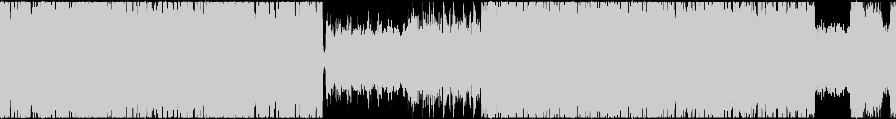 ループ用・リズムチェンジのあるロックリフの未再生の波形