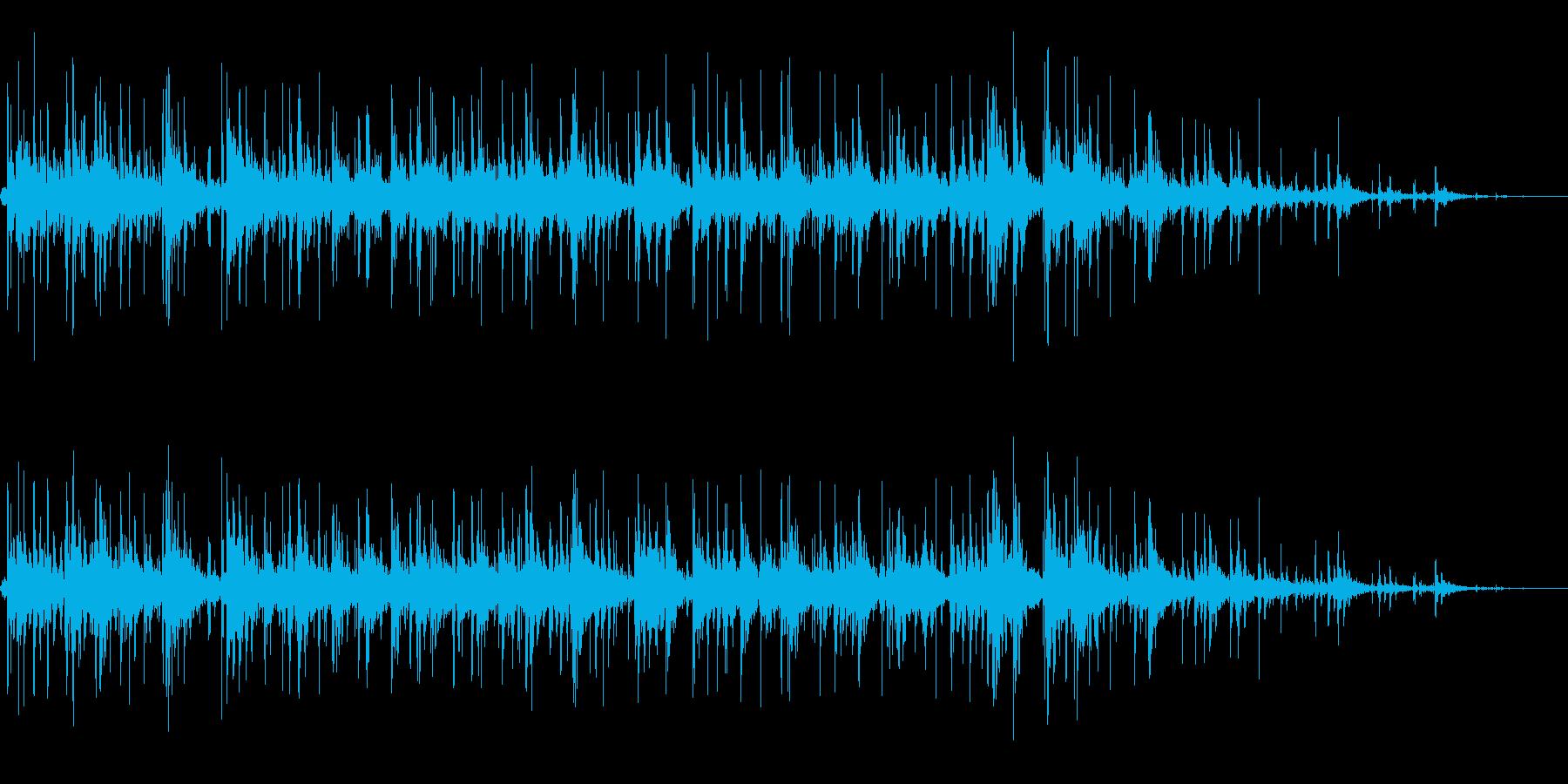 拍手の効果音(小規模/劇場/舞台)16の再生済みの波形