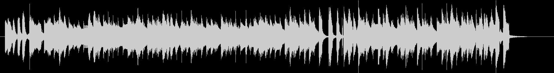 ハッピージャズの未再生の波形