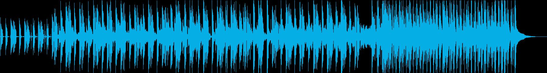 怪しい雰囲気のブルースの再生済みの波形