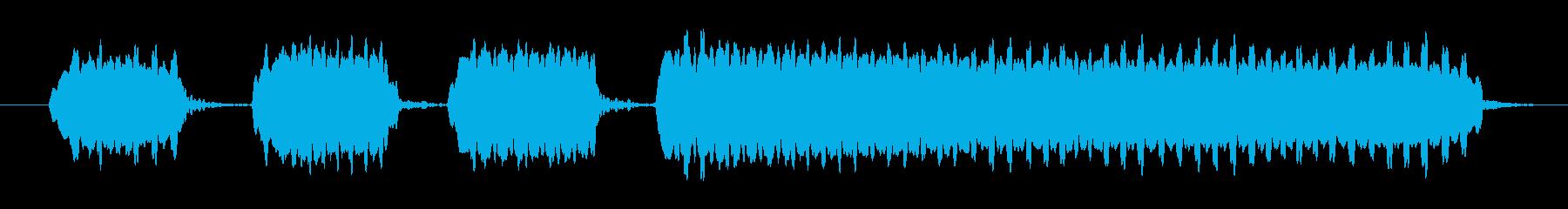 エンドウホイッスル2:多くのショー...の再生済みの波形