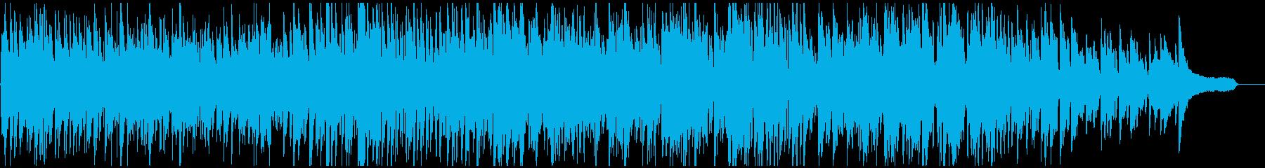 明るいお洒落なテナーサックスの軽快ジャズの再生済みの波形