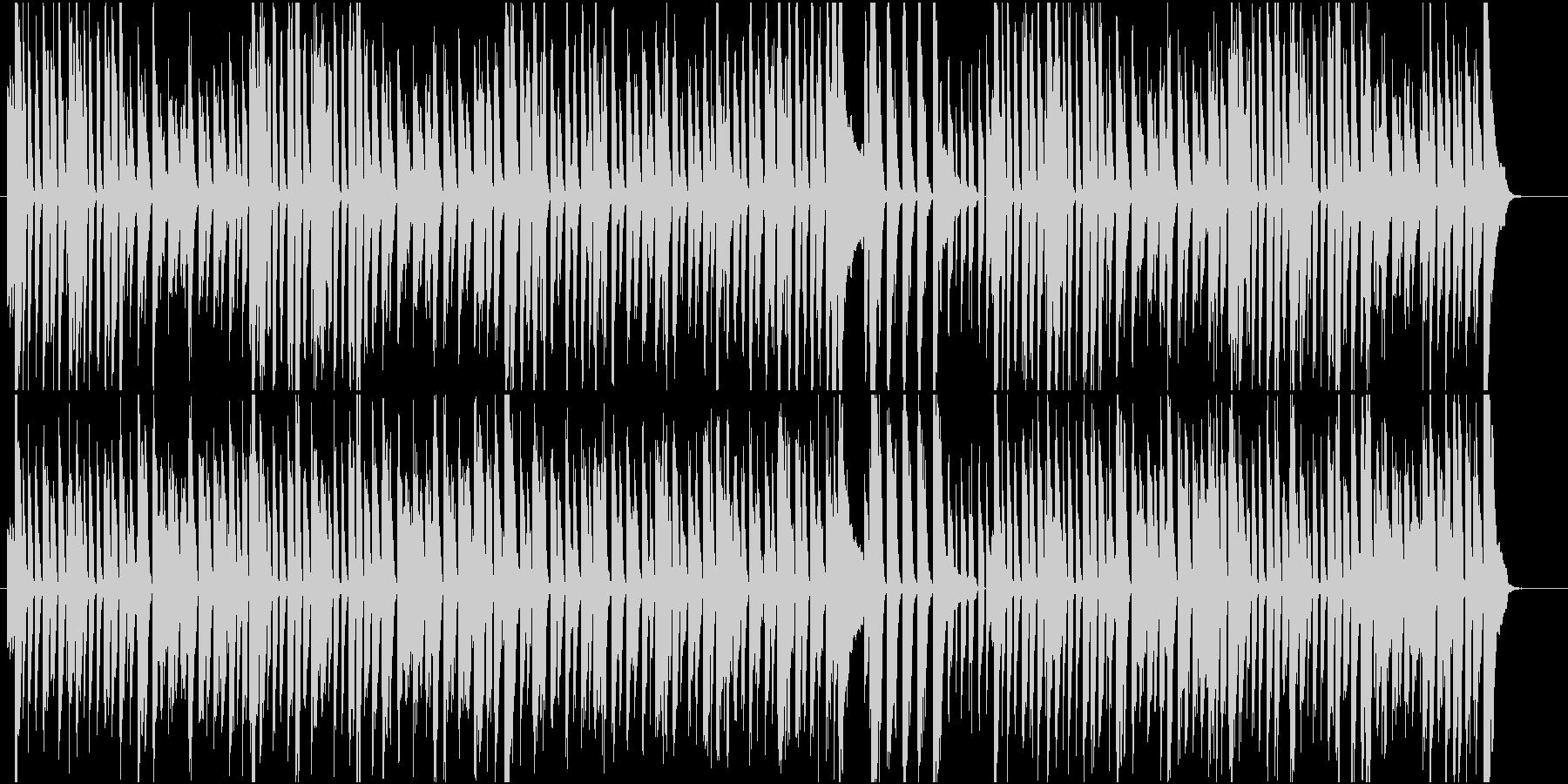 ヒロイン達と会話してる昼間的な日常BGMの未再生の波形