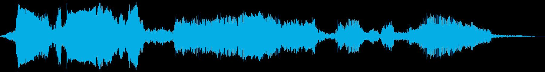 ミニモトクロスレースの再生済みの波形