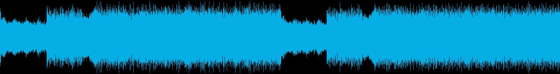 loop 不思議な雰囲気のドラムンベースの再生済みの波形