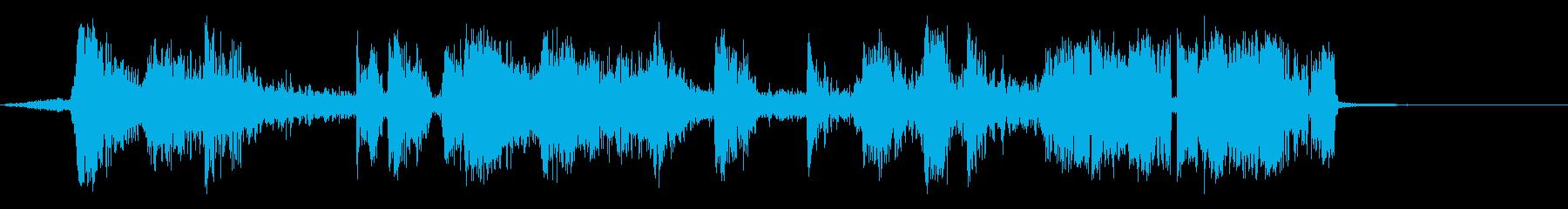 驚くほどシャープの再生済みの波形