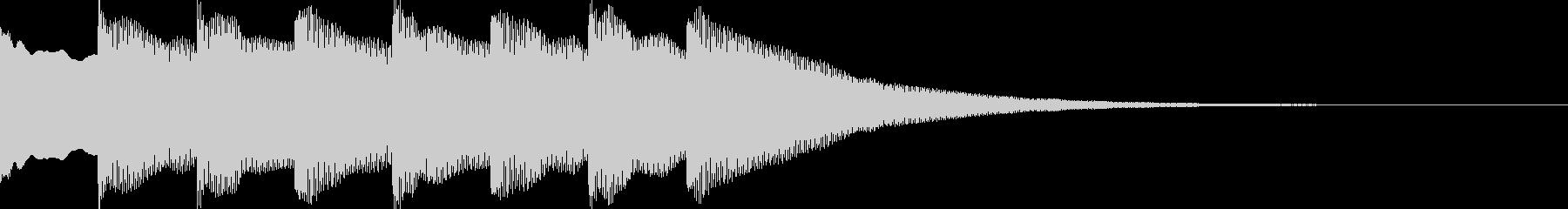 正解!の効果音2_ピンポン!×4の未再生の波形