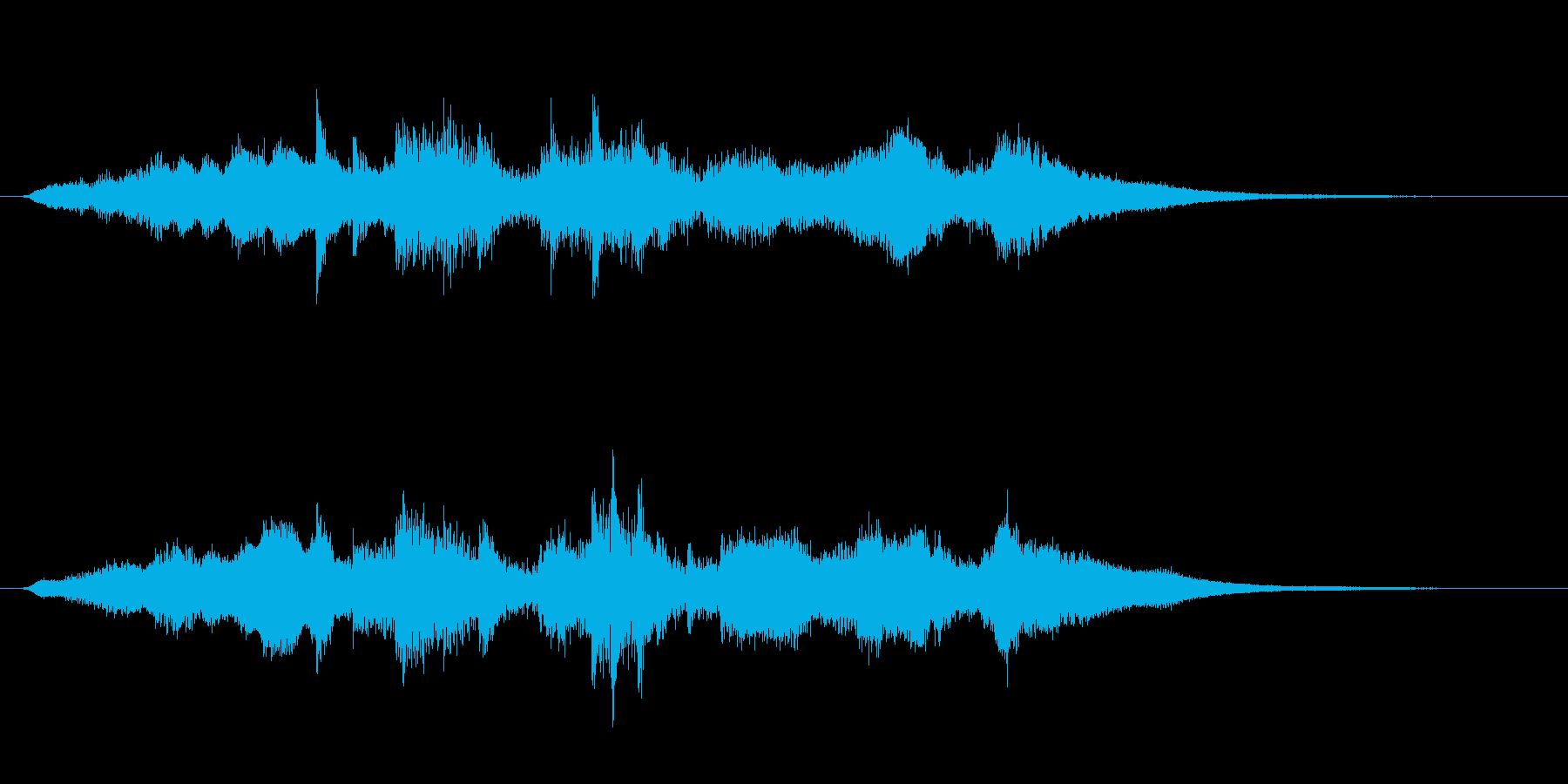 金属系のアイキャッチ音です。の再生済みの波形