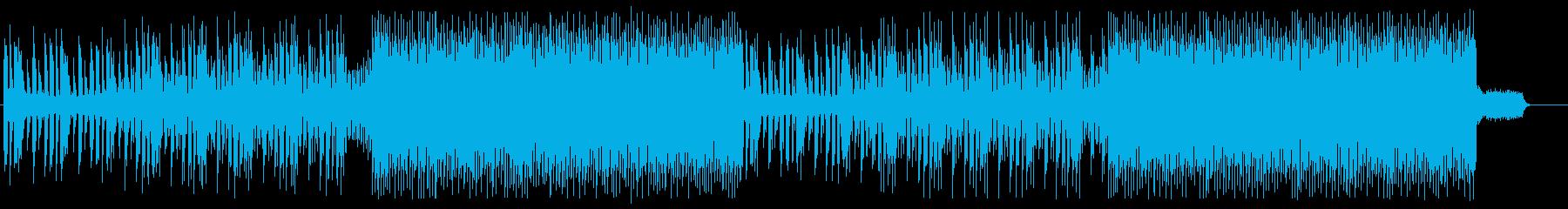 ゲーム ステージ選択/ステータス画面の再生済みの波形