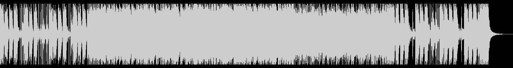 エネルギッシュなパンクオープニングの未再生の波形
