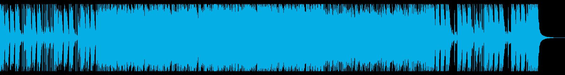 エネルギッシュなパンクオープニングの再生済みの波形