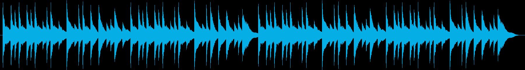 お正月の歌「たこたこあがれ」(琴)の再生済みの波形